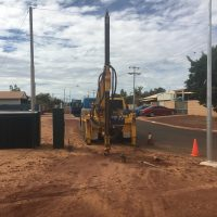 earth drilling on the PUPPs Karratha